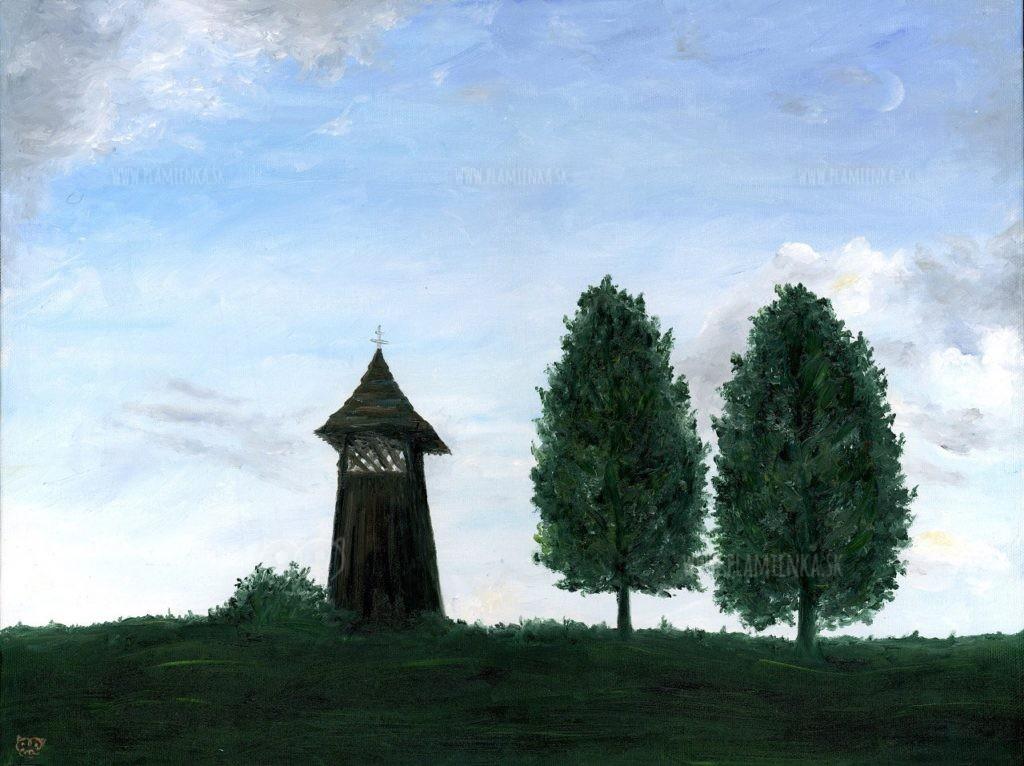 Zvonička v Doline, Zázrivá