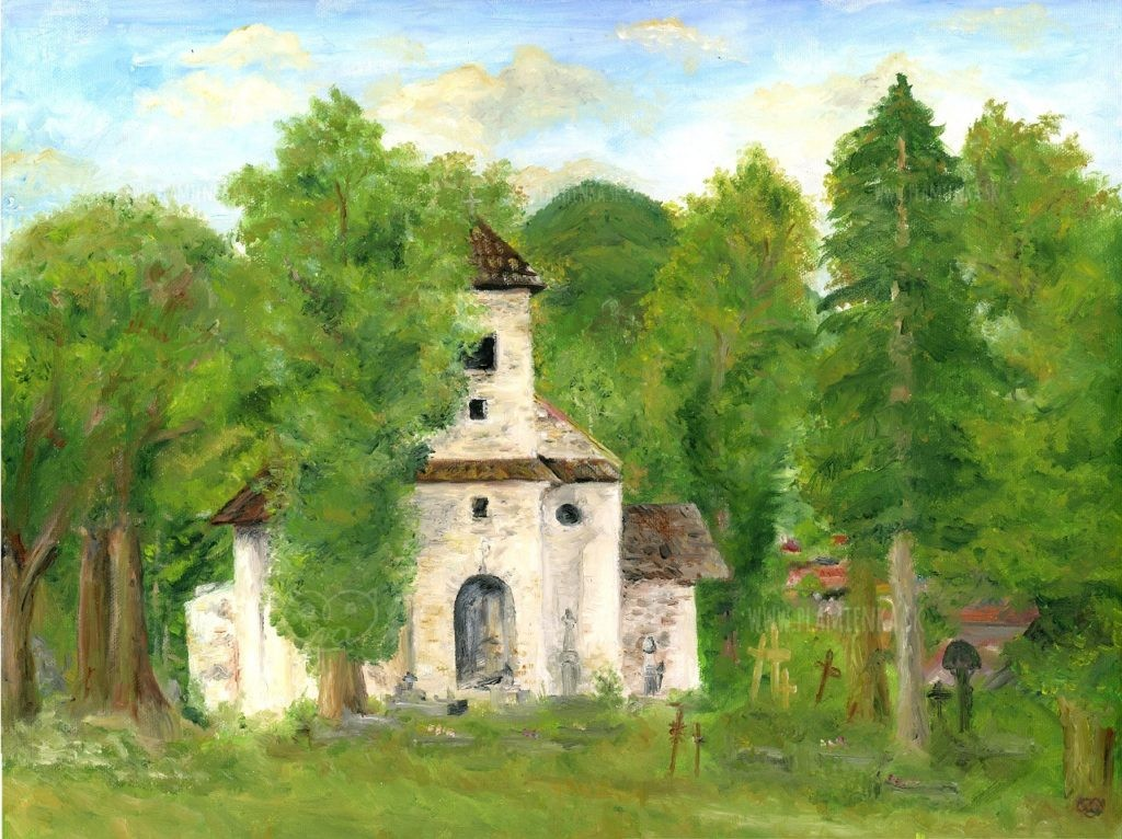 Starý kostolík, Zázrivá